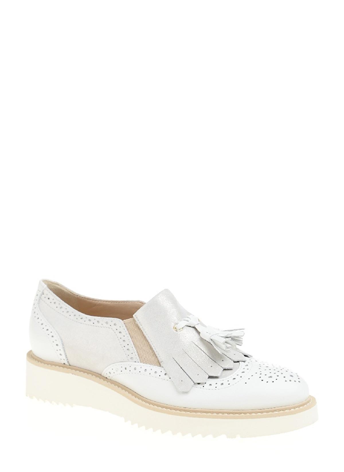 Divarese Püsküllü Oxford Ayakkabı 5019769 K Ayakkabı – 355.0 TL